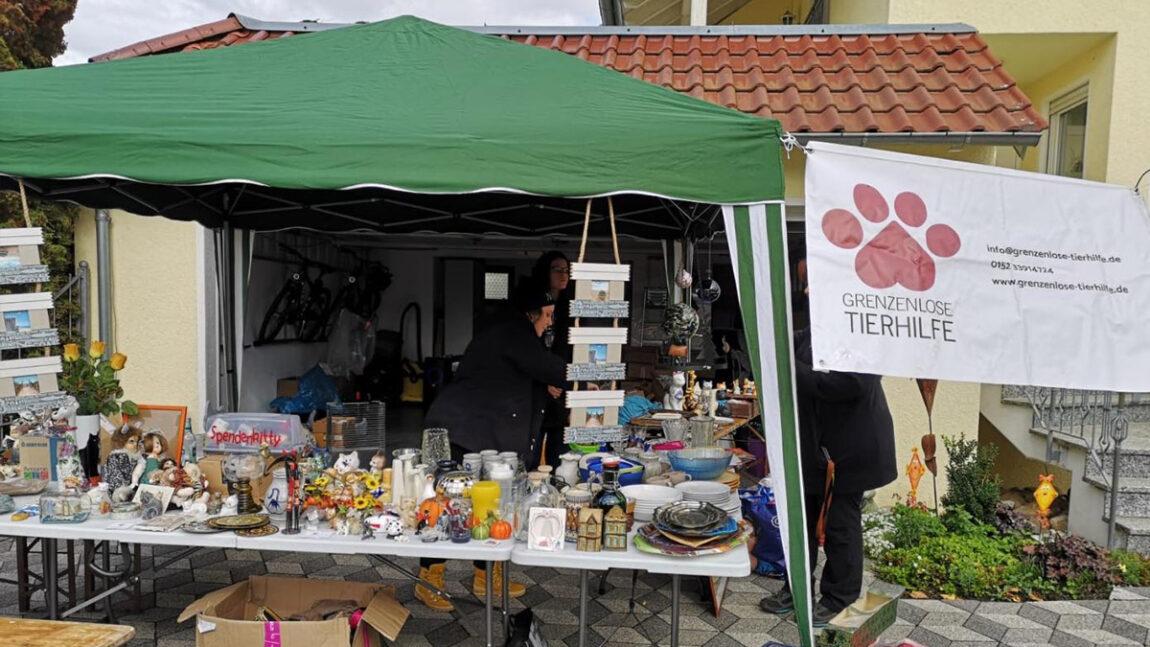 Heutiger Garagen-Flohmarkt ein voller Erfolg