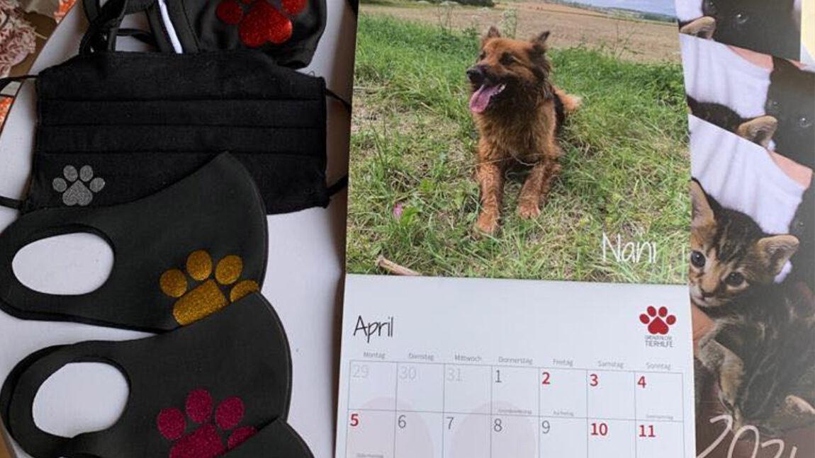 Erweitertes Sortiment: Masken, Kalender & Deko