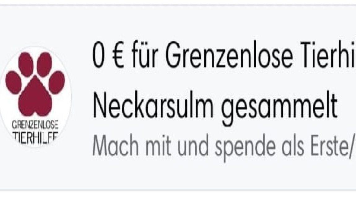 Spenden sammeln auf Facebook