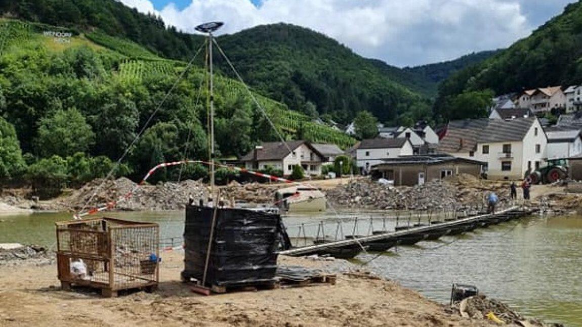 Hilfe für die Helfer der Flutkatastrophe